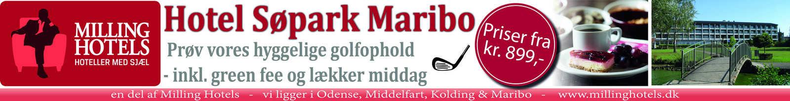 Hotel Søpark Maribo golfophold