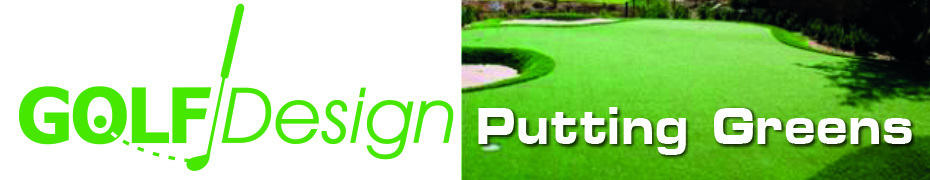 Golfdesign puttinggreen