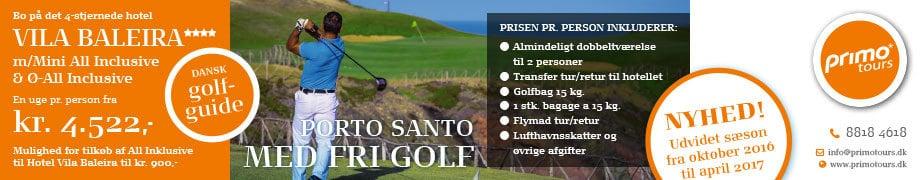 Primo Tours nyhed udvid sæson til oktober 2017