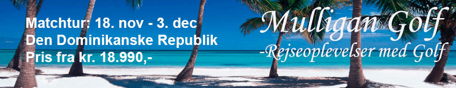 Mulligan Golf – matchtur til Punta Cana