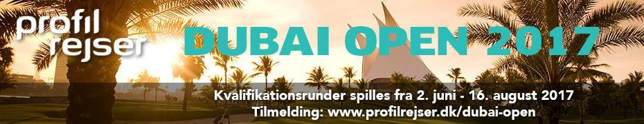 Profil Rejser – Dubai Open 2017
