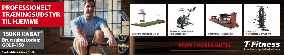 T-Fitness – første banner
