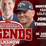 Oplev Ankerdal, John Daly & Thomas Bjørn i Musikhuset 28.august