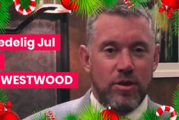JULEGAVE: Lee Westwood kommer til Himmerland