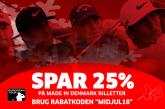 Du kan nå det endnu – 25% på Made in Denmark billetter