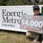 NORSK MAGTDEMONSTRATION VED ESBJERG OPEN BY ENERGIMETROPOL ESBJERG